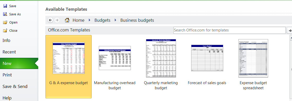 Business_Budget_Templates
