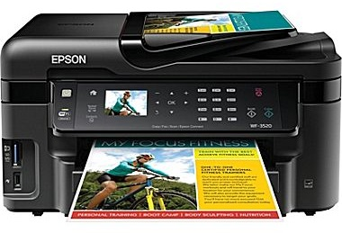 Inkjet all in one printer
